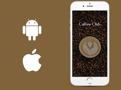 Coffee Club Application Design mobile apps coffee club app development coffee club app development mobile app development mobile application mobile ui mobile app