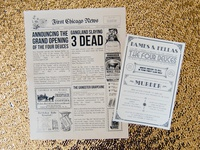 Speakeasy Murder Mystery Print Invitations