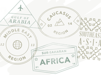 Passport Stamps by Region