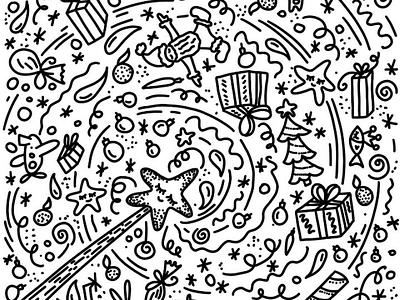 Magic new year doodle doodle newyear magic