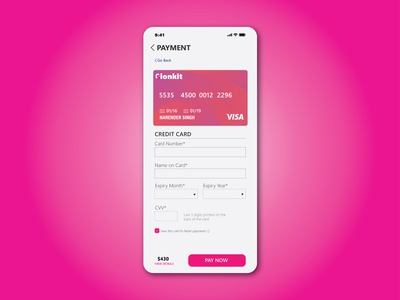 DAY 002, Daily UI challenge, Checkout page