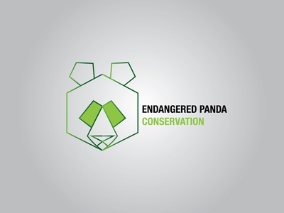 DAY 003, DAILY LOGO CHALLENGE, ENDANGERED PANDA CONSERVATION