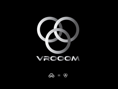 DAY 005 |  DAILY LOGO CHALLENGE | VROOM