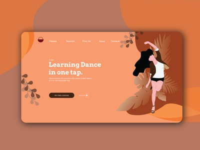 Day 003 | Landing page | mobile app | Daily UI challenge