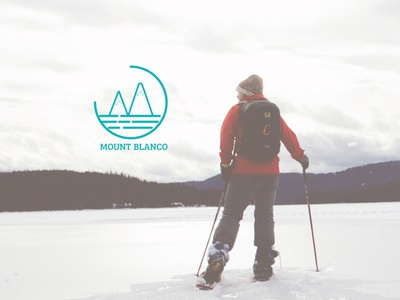 DAY 008 | DAILY LOGO CHALLENGE | MOUNT BLANCO