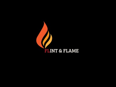 DAY 010 | DAILY LOGO CHALLENGE | FLINT AND FLAME RESTAURANT