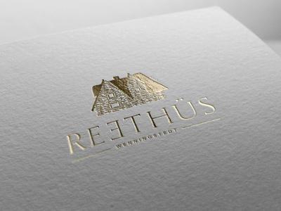 Reethus Hotel Logo logo hotel branding hotel luxury illustration design art