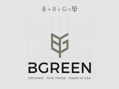 Be Green Logo creative green leaf illustration design logo brand