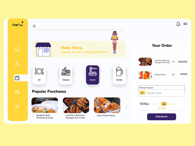 Food Store Dashboard