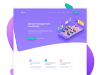 Education landing page banner exploration