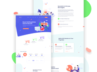 SEO I  Digital Agency Landing page