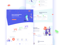 SEO Services I Digital Agency Landing page