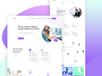 Creative Agency | Home Page Design