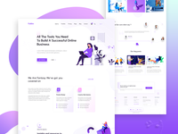 Creative Agency | Service Page Design