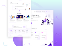 Creative agency landing home page