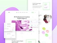 Creative digital agency - Exploration