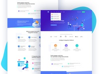 IT & Software landing page
