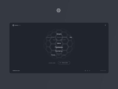 Blackseo Agency website seo adaptive black menu digital agency