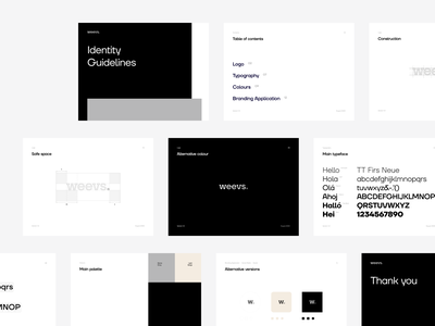 Weevs – Branding 🎨 recruit asian minimalistic black strategy digital transformation agency recruitment asean weevs developement talent tech outsource digital branding brand modern minimal logo