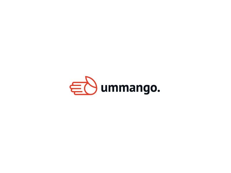 ummango. handy easy to use scan print send mango orange hand fingers logo przemek kowal