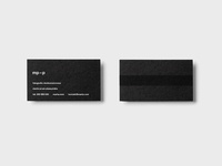 mp-p - business cards