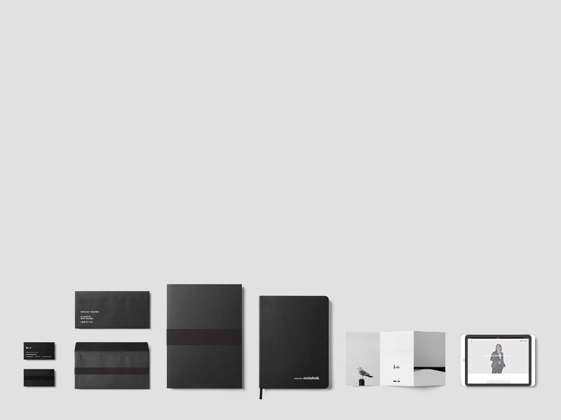 mp-p - branding presentation minimal simple idea modern elegant surname long different think photographer photography logo