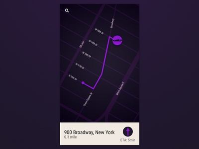 Location Tracker - DailyUI 020