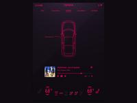 Car Interface - DailyUI 034