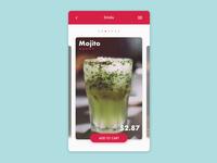 Drink Menu - DailyUI 043