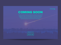 Coming Soon - DailyUI 048