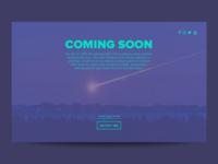 Coming Soon - DailyUI 048