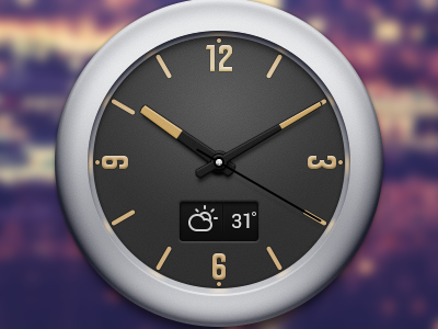 Clock Widget for Android