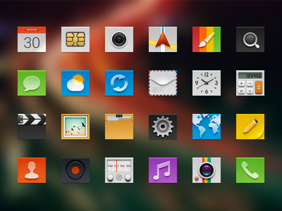 Android Launcher icons IV