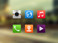Android Launcher Icon Experiment