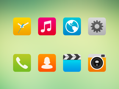 Android Launcher Icon Experiment 2