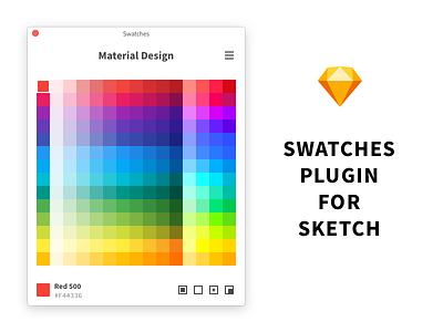 Swatches palette sketchplugin plugin swatch sketch