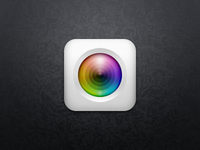 PSD Two Layers Camera App Icon