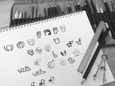 Branding Design Sketch