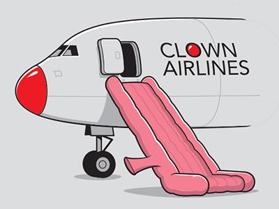 Clown aird