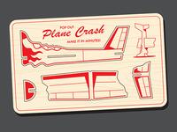 Model Plane Crash