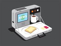 Breakfast Briefcase