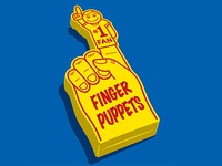 Finger Puppet Fan