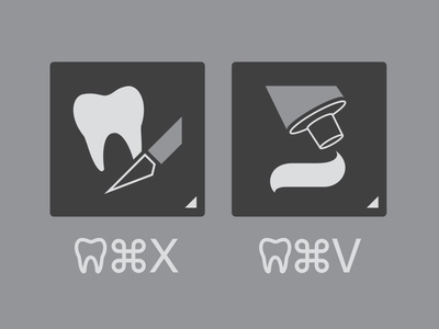 Tooth Cut, Tooth Paste