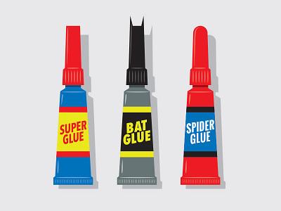 Standard Adhesives illustration illustrator vector super glue glenn jones glennz