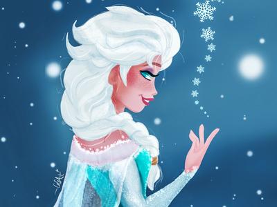 Disney Frozen 2 Elsa Fanart