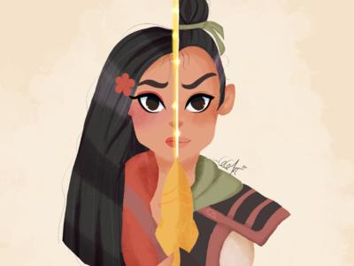 Disney Mulan Fanart Character Cartoon Drawing