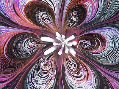 SPLIT CUP POUR OVER LEMON SQUEEZER artwork paintings art dirty pouring fluid pouring fluid acrylic illustration fluid art acrylic painting