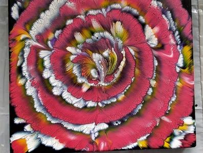 A flower reverse dip
