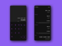 Calculator | Daily UI #004
