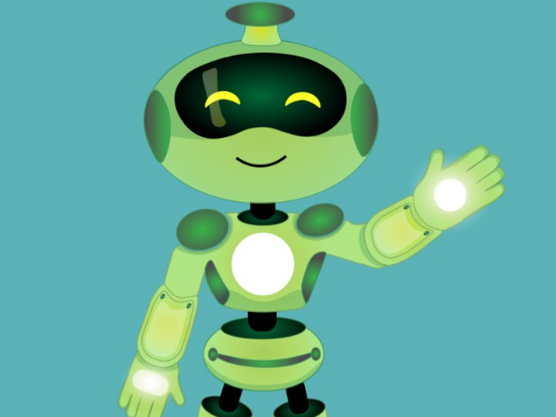 Ilustração Robô ilustração illustration robot